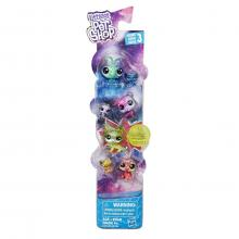 Set 7 minifigurine Littlest Pet Shop - Cosmic Friends Martian