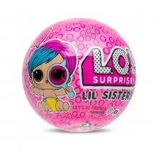 Papusa LOL Surprise Ball - Lil Sisters, 5 piese (Eye Spy, Wave 1)