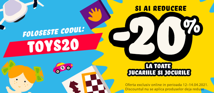 TOYS20 - Cupon Reducere
