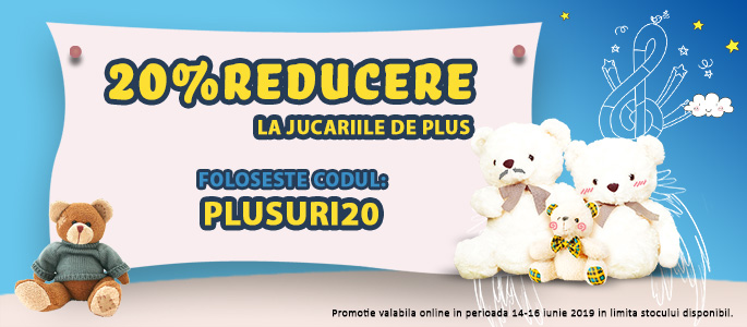 9faca18a29 Jucarii de Plus - Promo