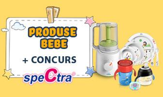 Produse Bebe + Concurs Spectra