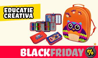 Educatie creativa - Black Friday