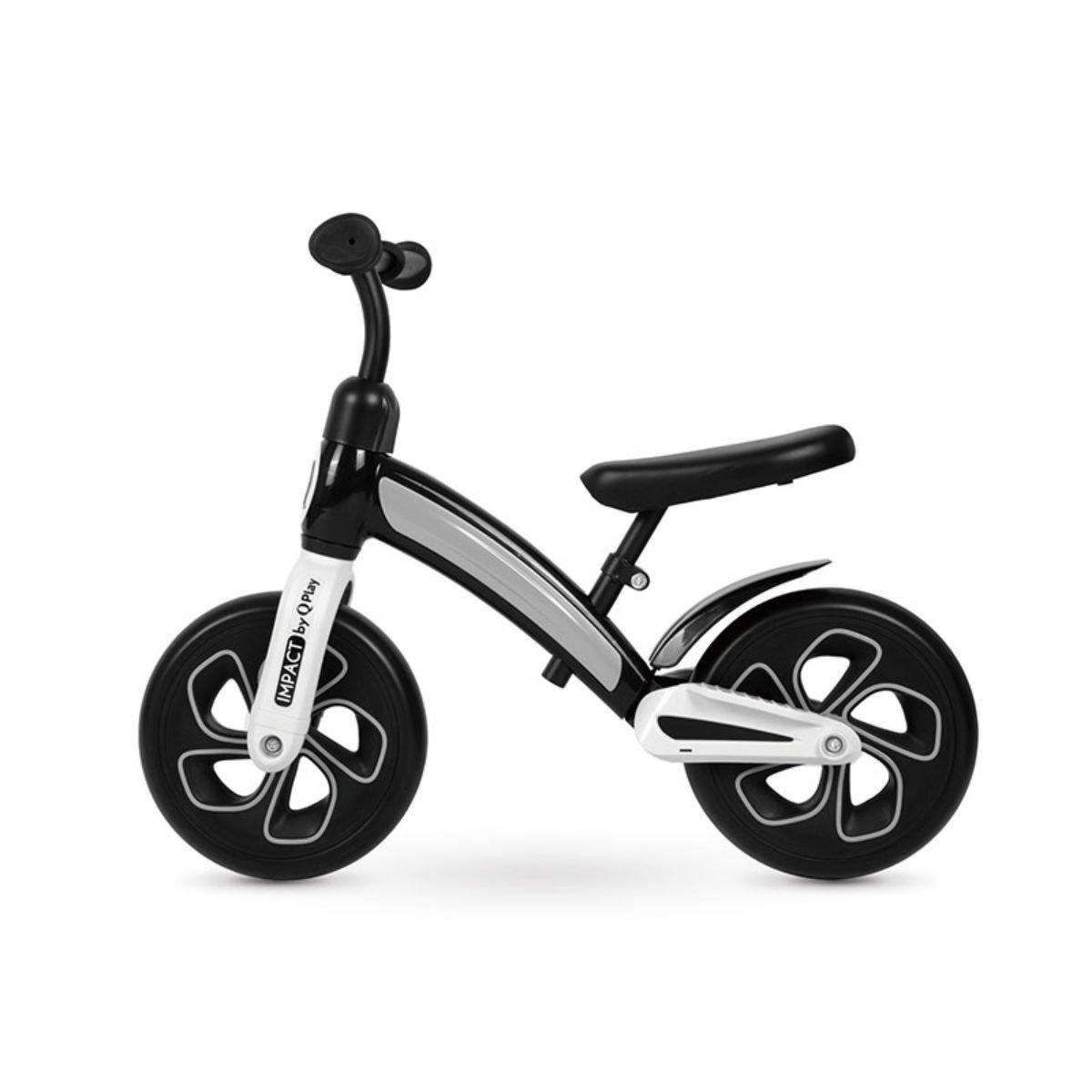 Bicicleta fara pedale DHS Baby Qplay Impact, Negru, 10 inch