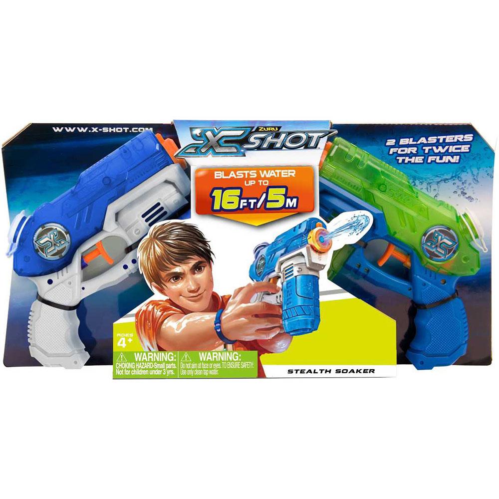 Set pistoale cu apa X-Shot Water Blaster - Stealth Soaker