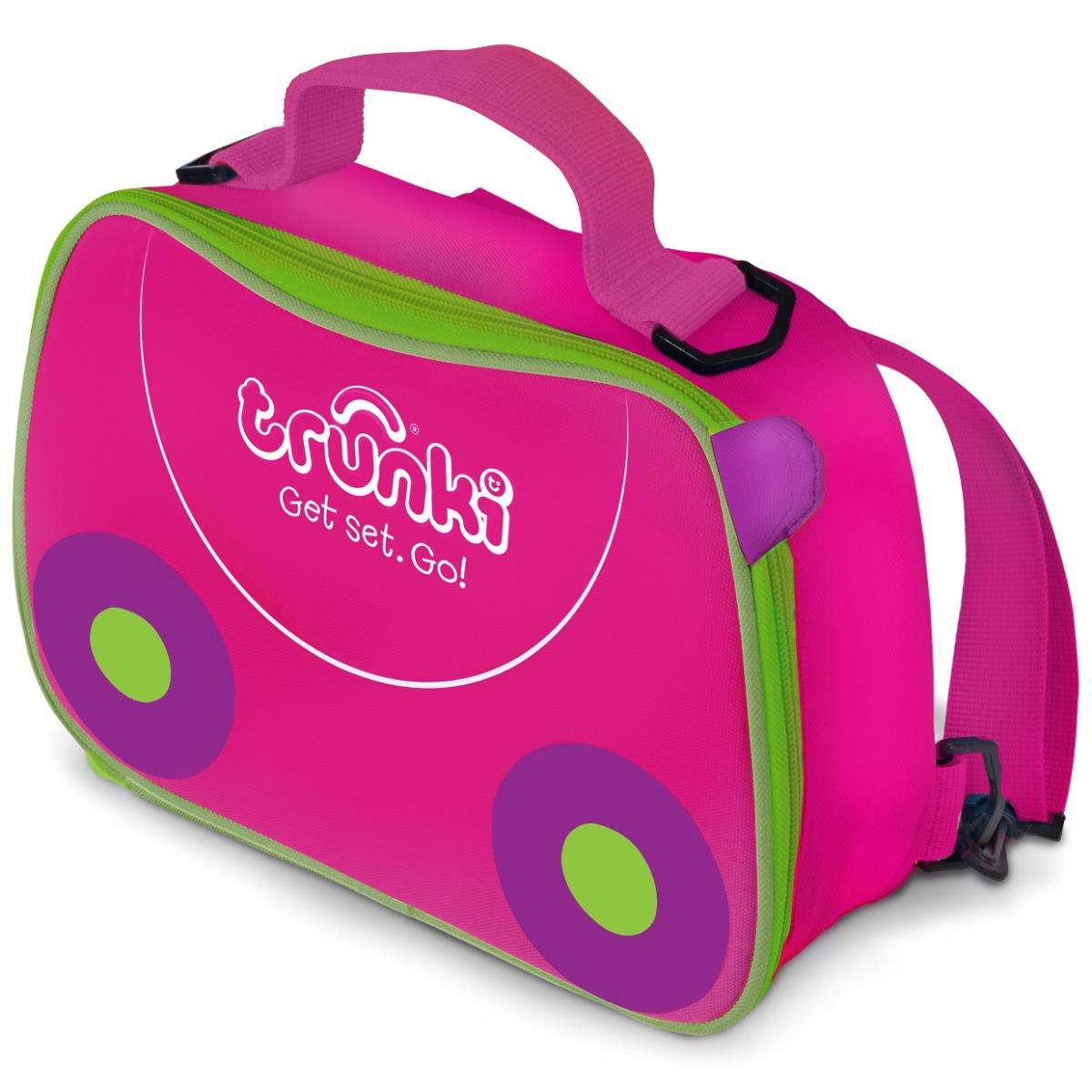 Geanta Lunch Bag Trunki, Roz