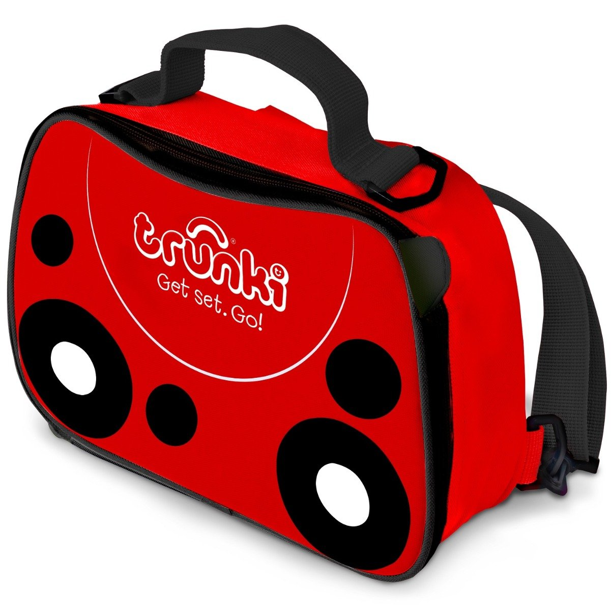 Geanta Lunch Bag Ladybird Trunki, Rosu