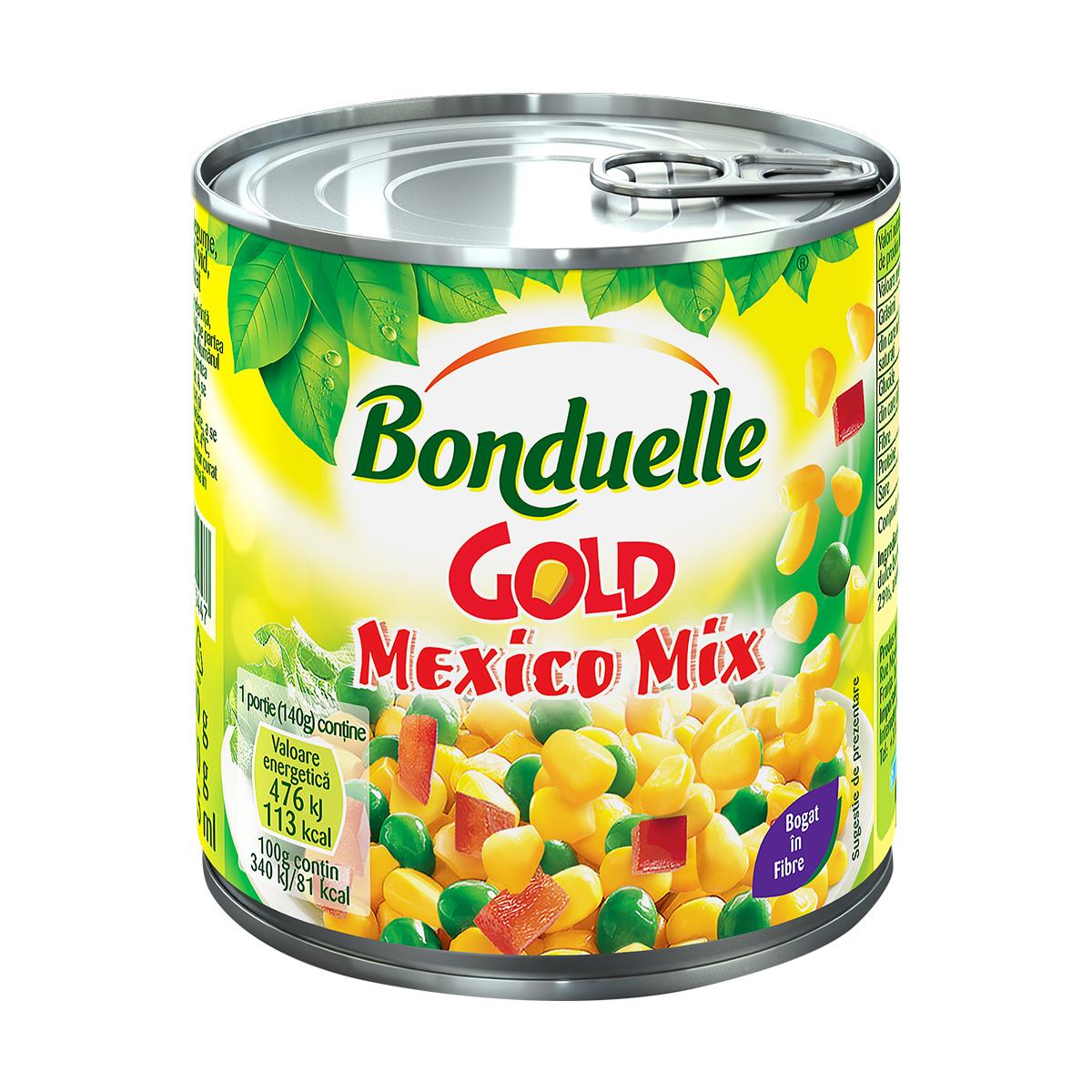 Amestec de legume Bonduelle Mexico Mix Gold, cutie, 425 ml imagine