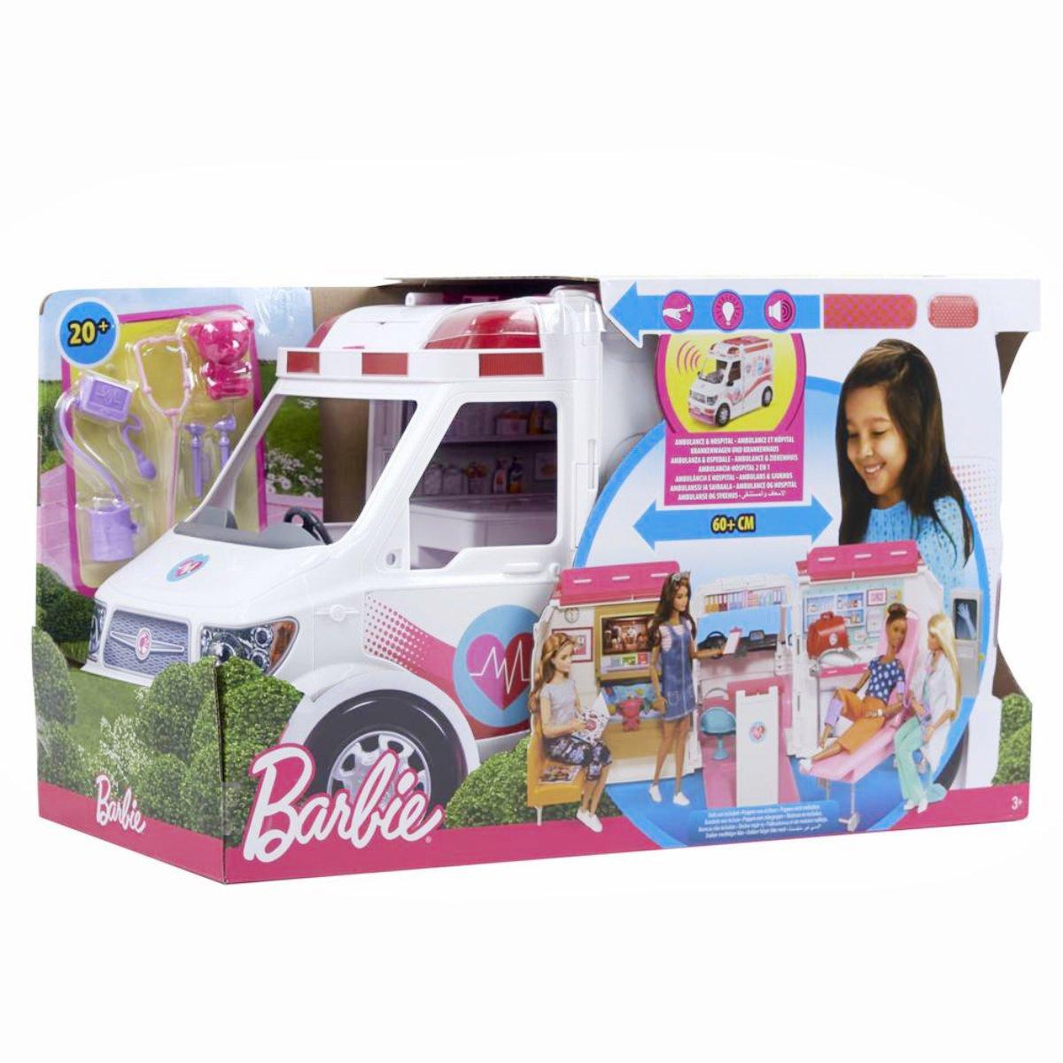 Set Barbie, Clinica mobila