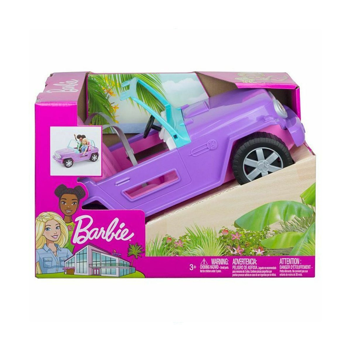 Masinuta Barbie, de teren