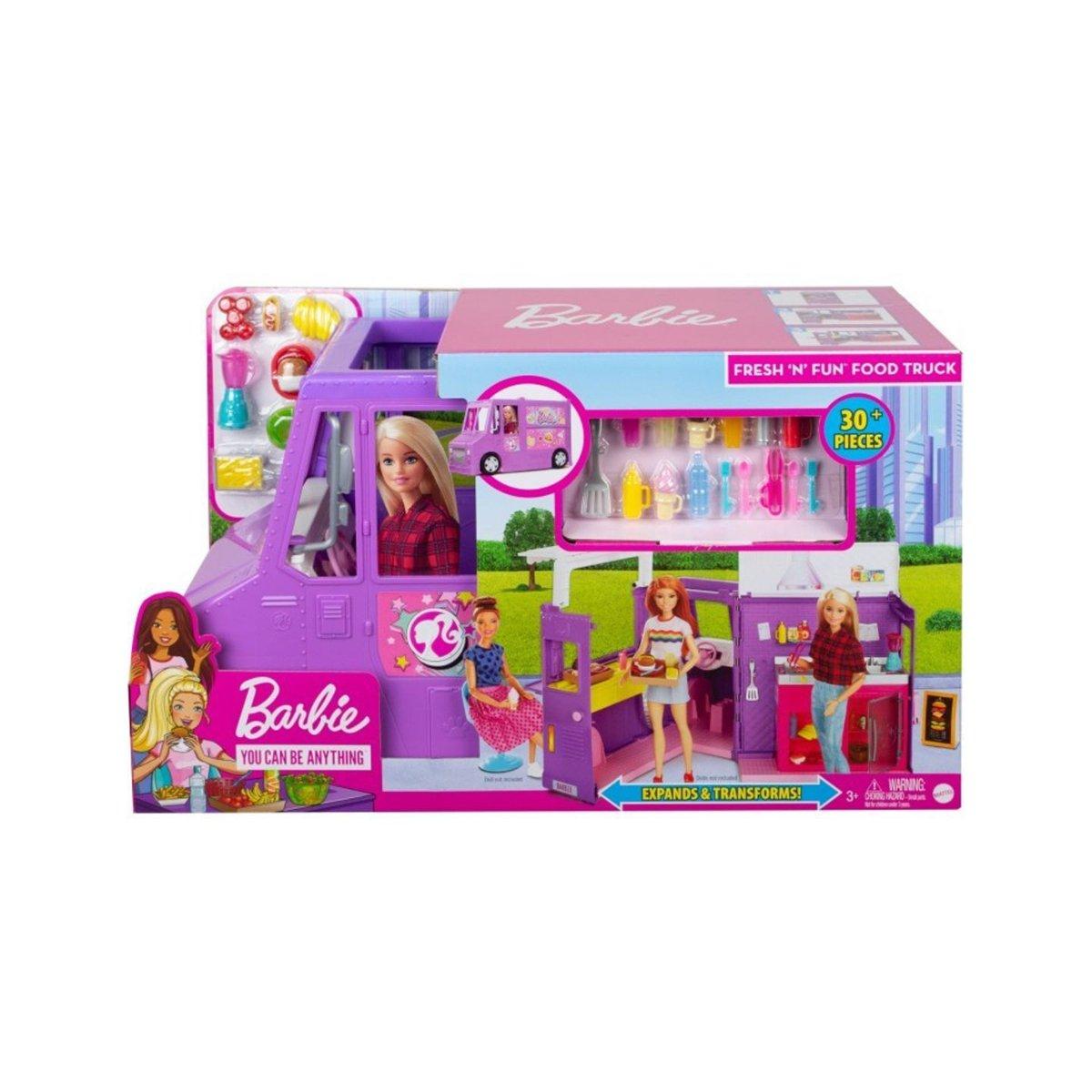 Set Barbie, Rulota cu mancare