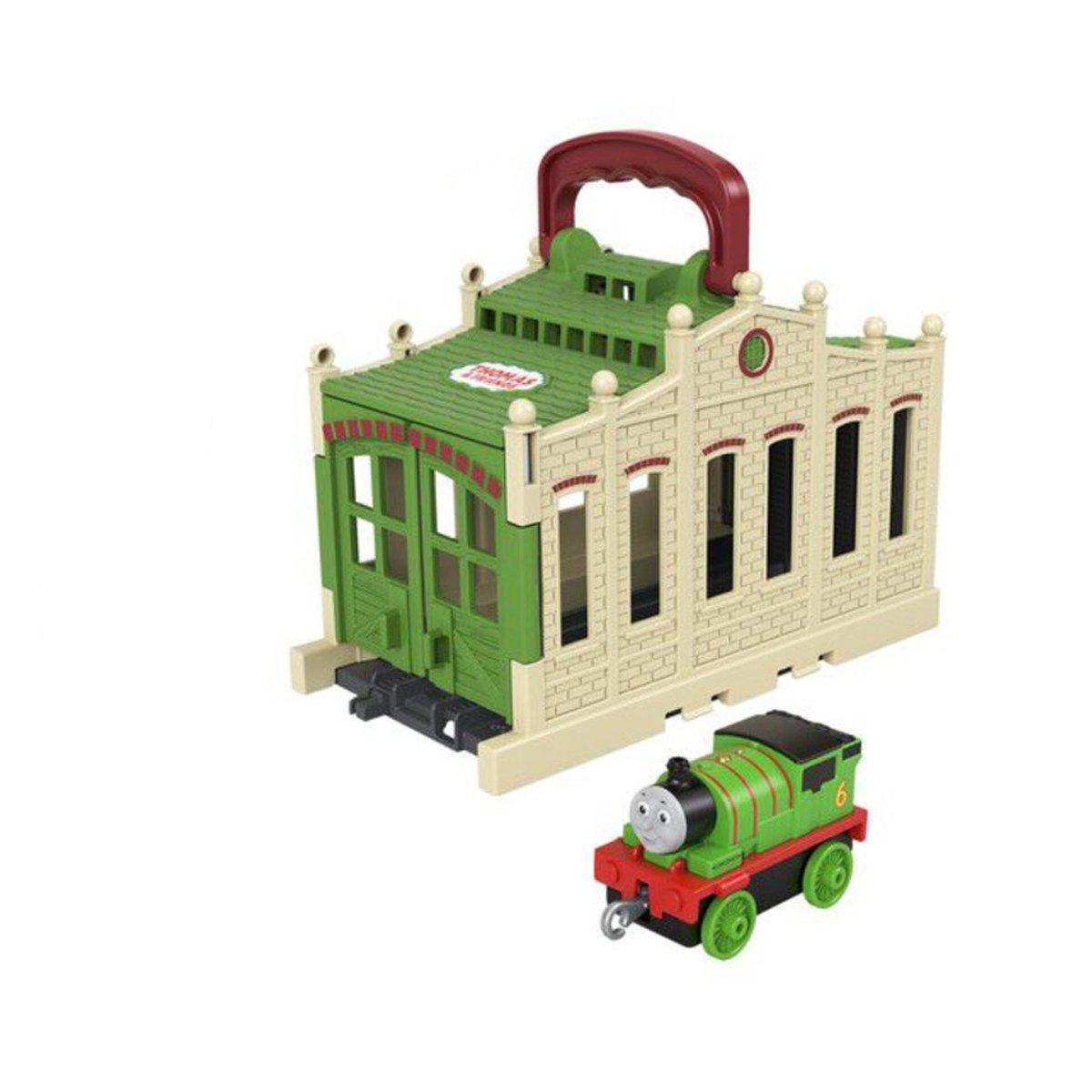 Set depou Thomas And Friends, cu locomotiva
