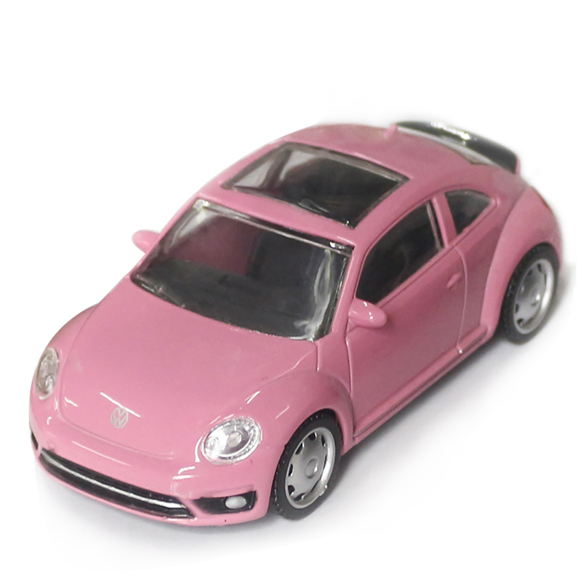 Masinuta Rastar Volkswagen Beetle, Roz, 1:43