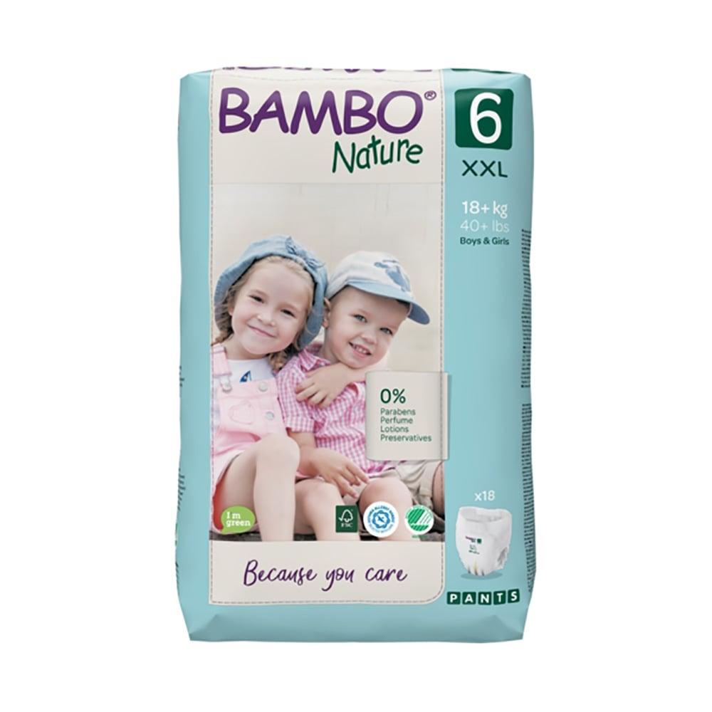 Scutece Bambo Nature Eco Friendly Pants, Nr 6, 18 Kg +, 18 buc
