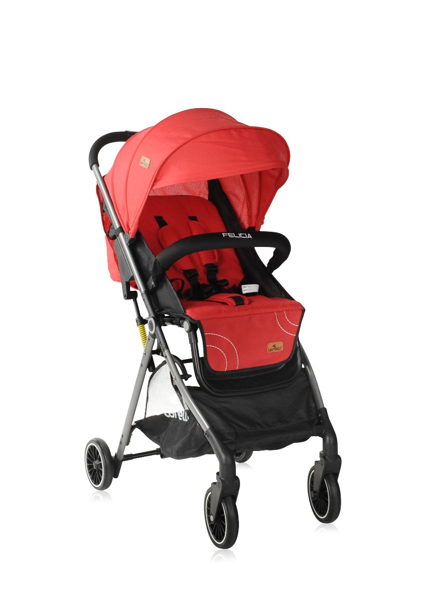 Carucior pentru nou-nascut Lorelli Felicia, Red