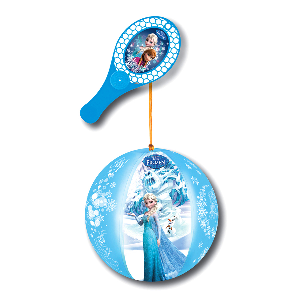Minge gonflabila cu paleta Disney Frozen