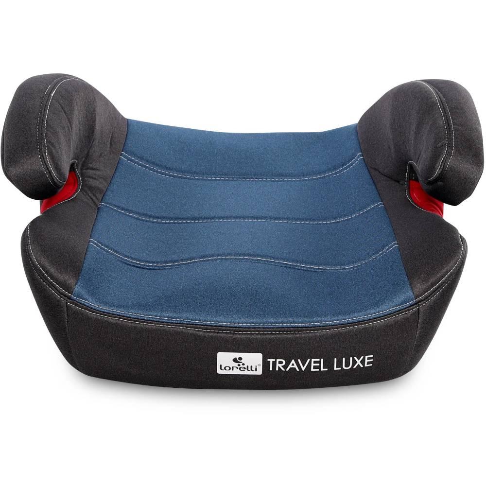 Inaltator auto Lorelli Travel Luxe, Isofix, 15-36 Kg, Blue imagine