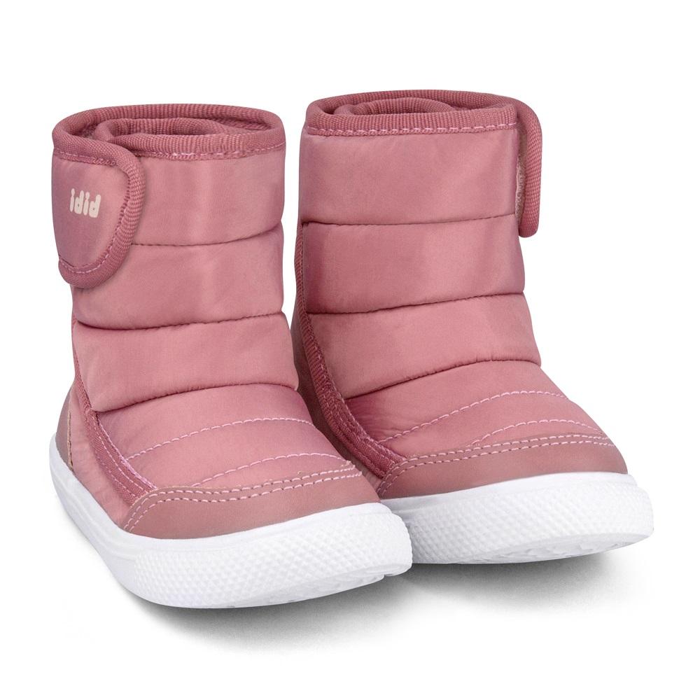 Cizme cu velcro Bibi Shoes Agility Mini, Roz