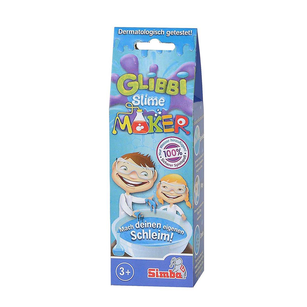Gelatina Slime Maker Glibbi, 50 g, Albastru imagine