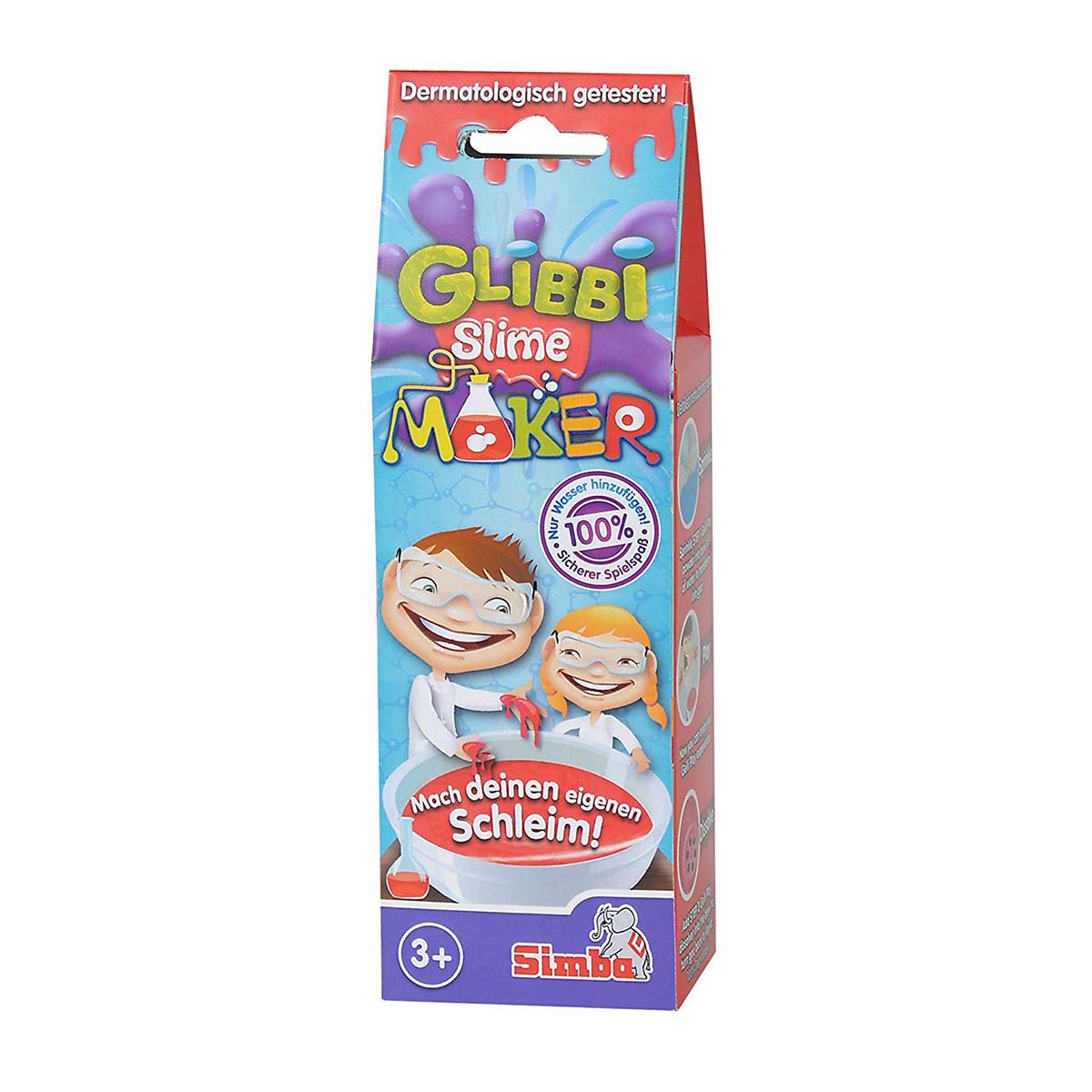Gelatina Slime Maker Glibbi, 50 g, Rosu