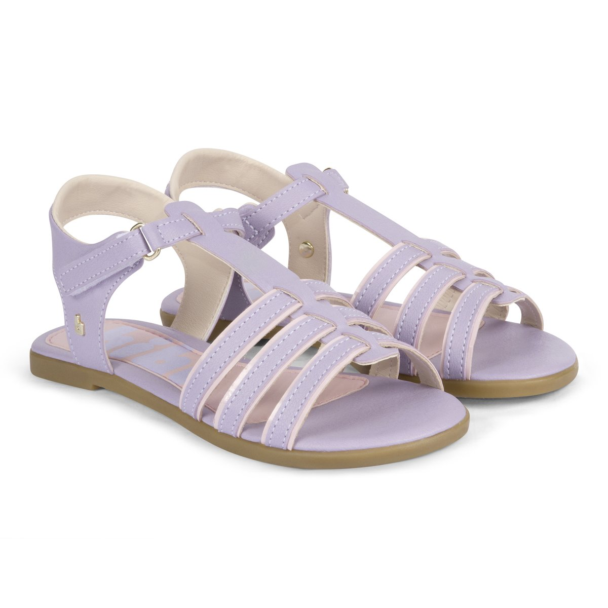 Sandale din piele Bibi Shoes Fresh Astral, Mov