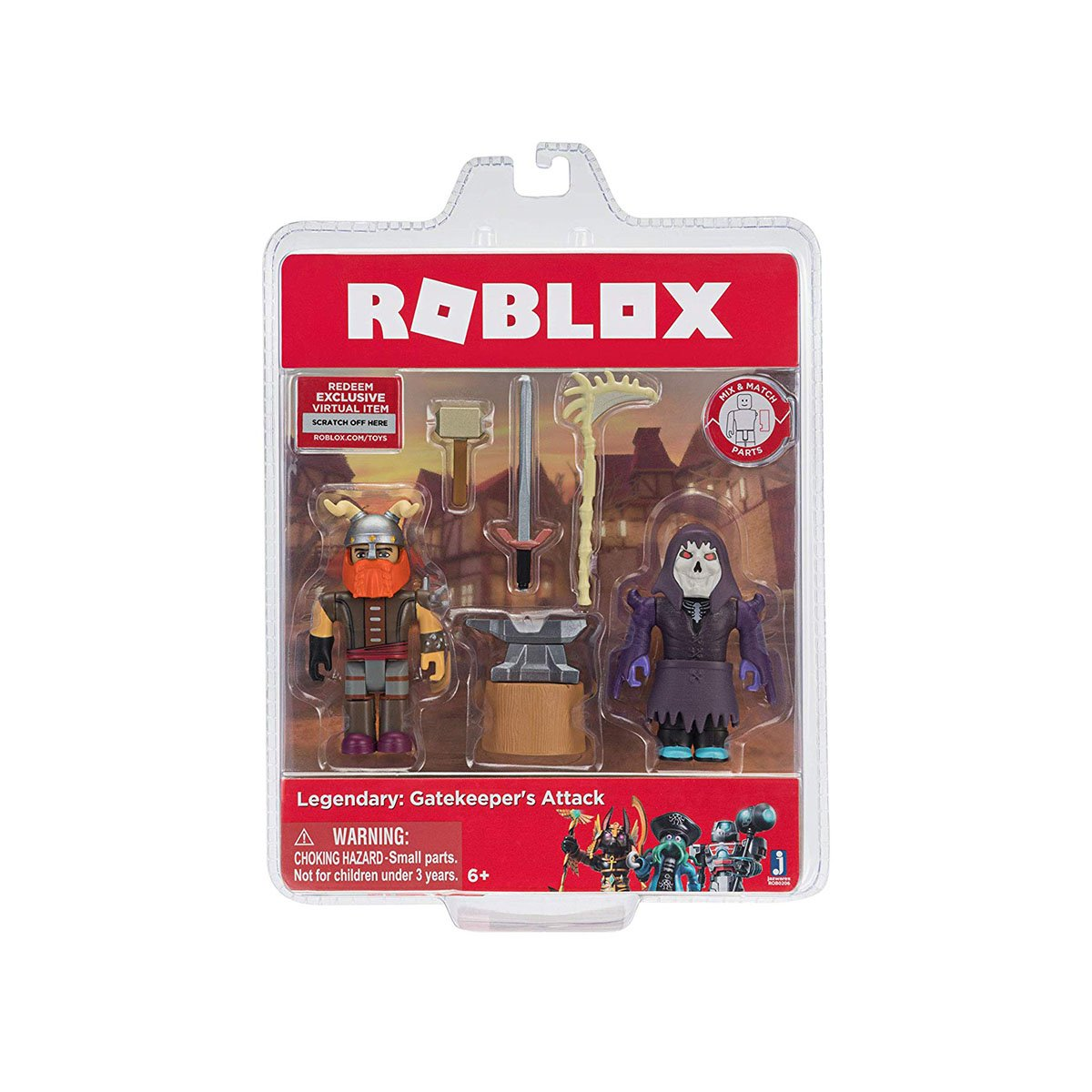 Set 2 figurine Roblox, Legendary Gatekeeper's Attack