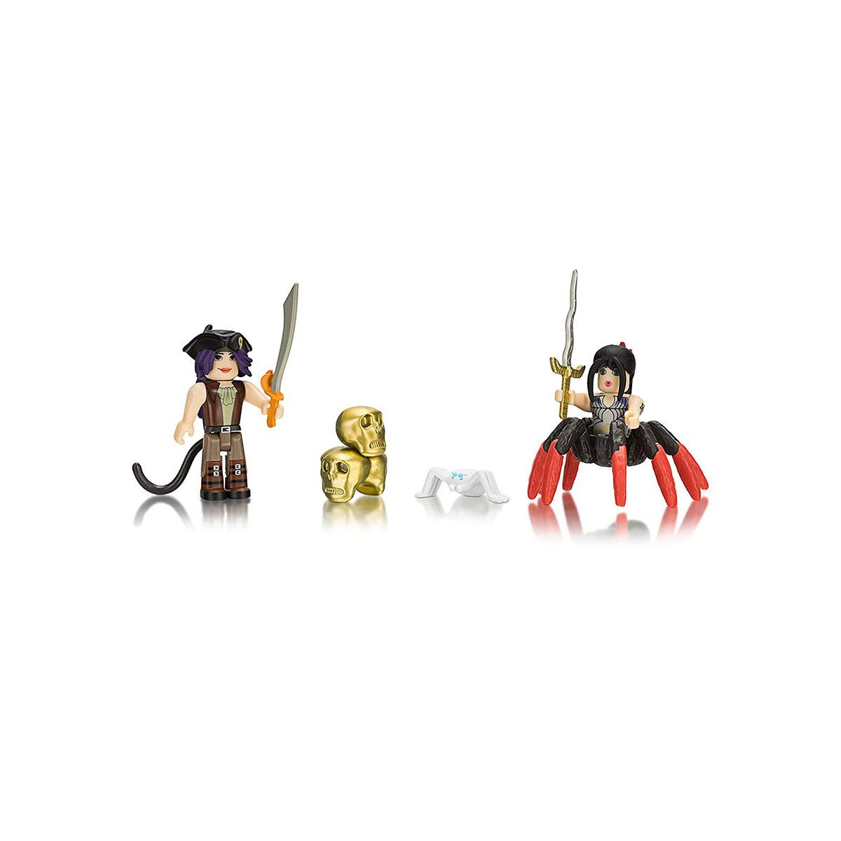 Set 2 figurine Roblox, Neverland Lagoon Salameen the Spider Queen
