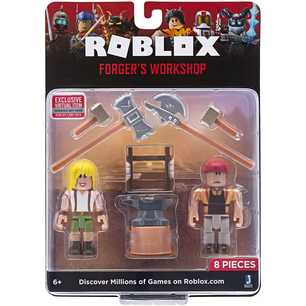 Set 2 figurine Roblox, Forger's Workshop