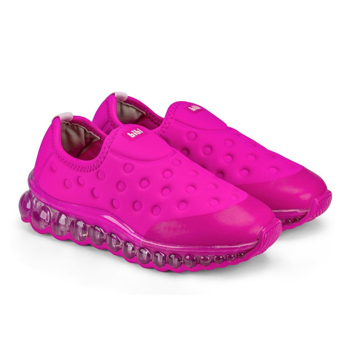Pantofi sport Bibi Shoes Led Roller Celebration, Roz imagine