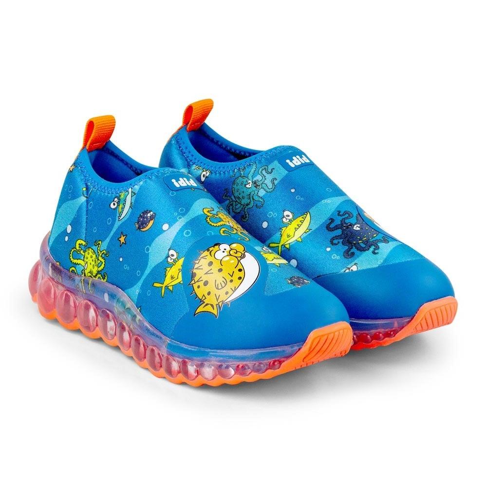 Pantofi Sport cu Led Bibi Roller Celebration