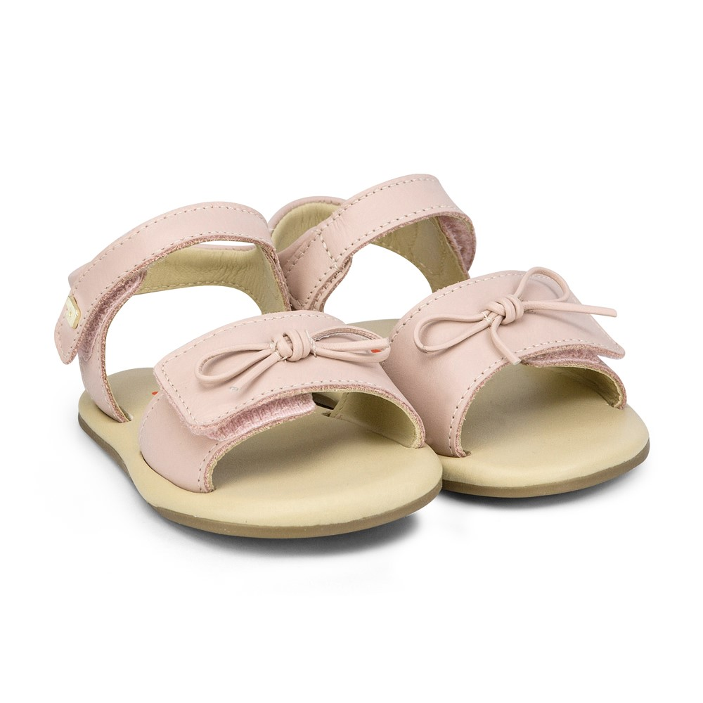 Sandale Din Piele Bibi Shoes Afeto, Roz