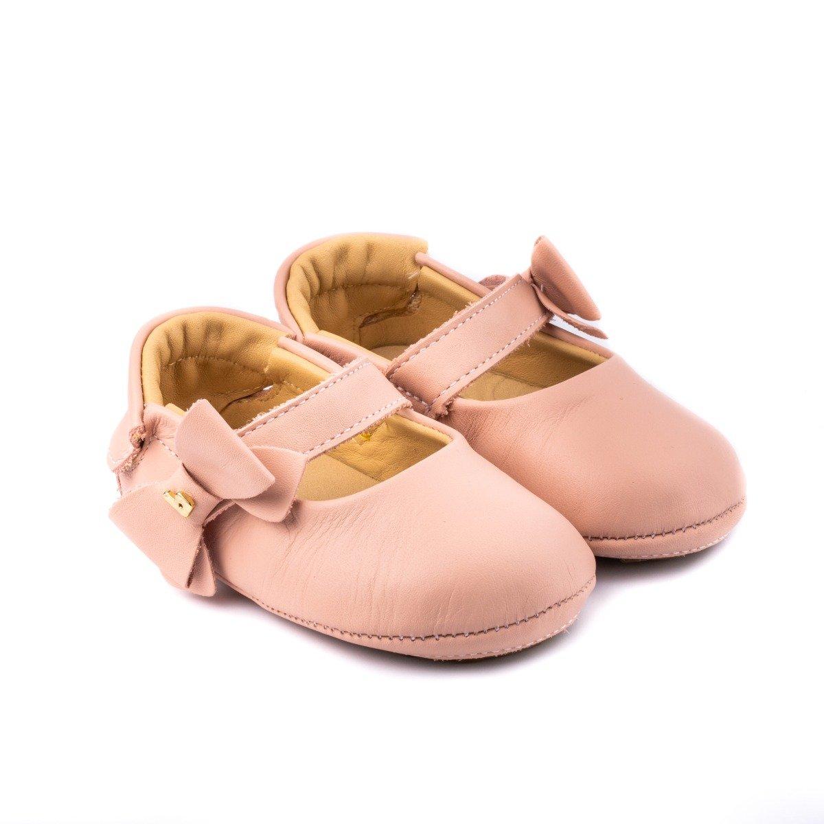 Balerini cu funda Bibi Shoes Afeto Camelia, Roz