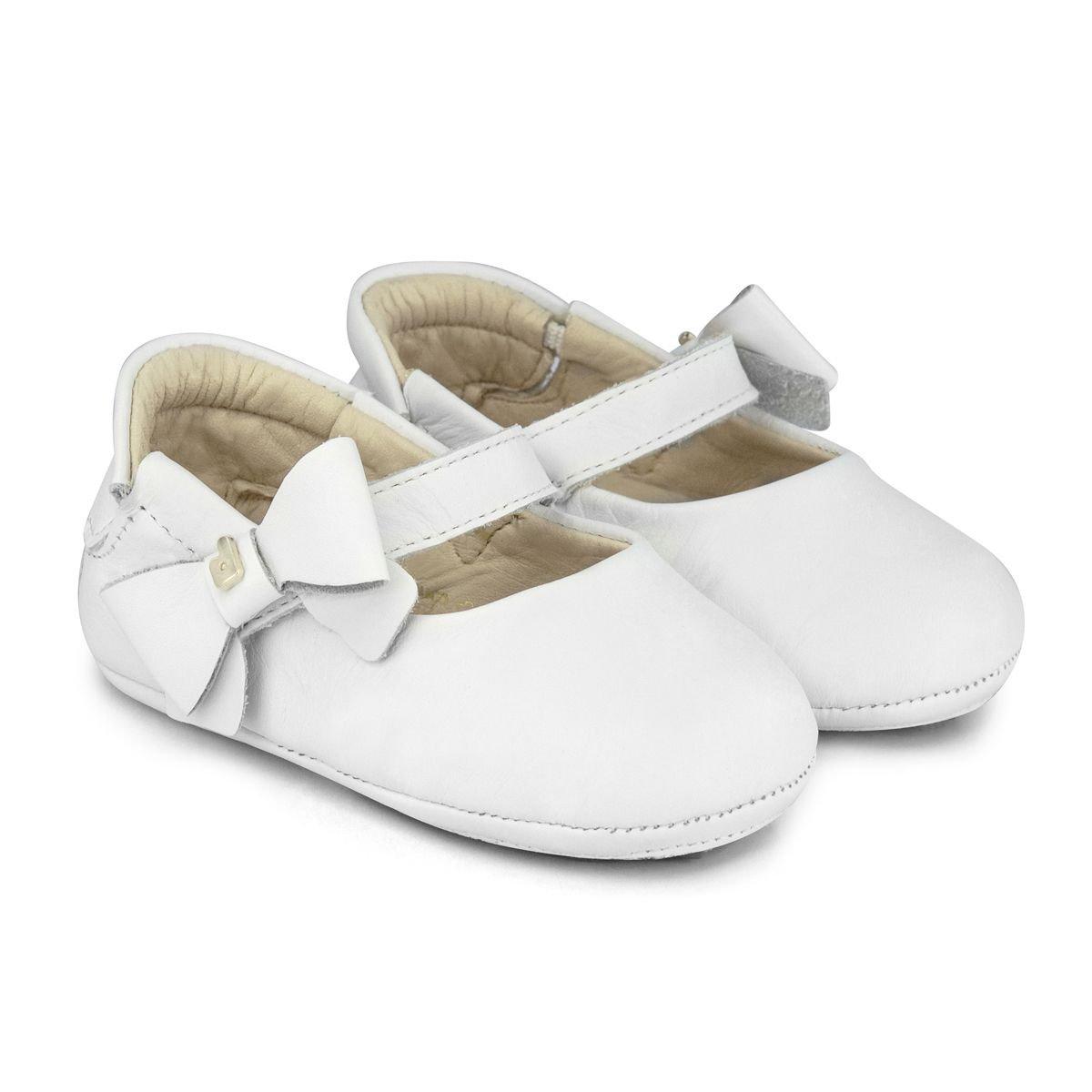 Balerini cu funda Bibi Shoes Afeto, Alb imagine