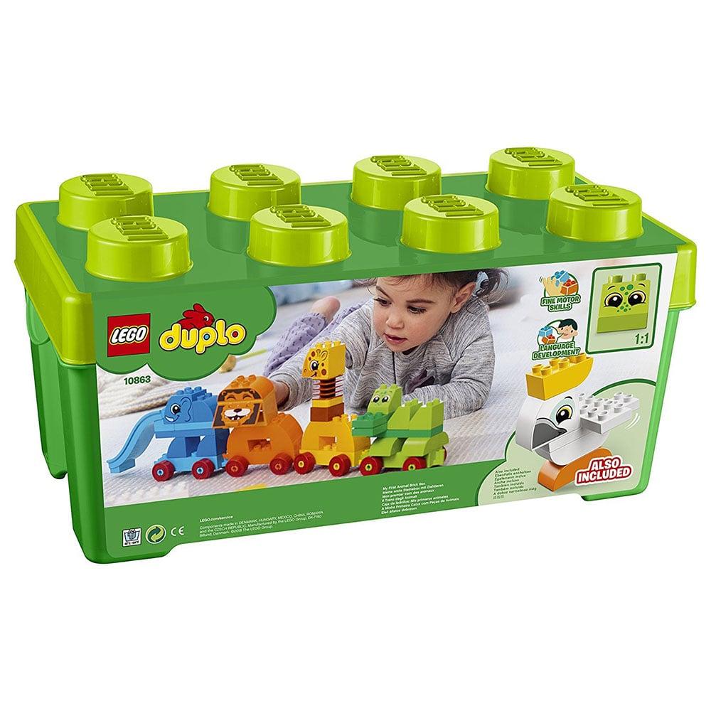 LEGO® DUPLO® - Prima mea cutie de caramizi cu animale (10863) imagine