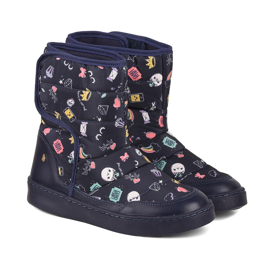Cizme cu imprimeu Bibi Shoes Urban Naval