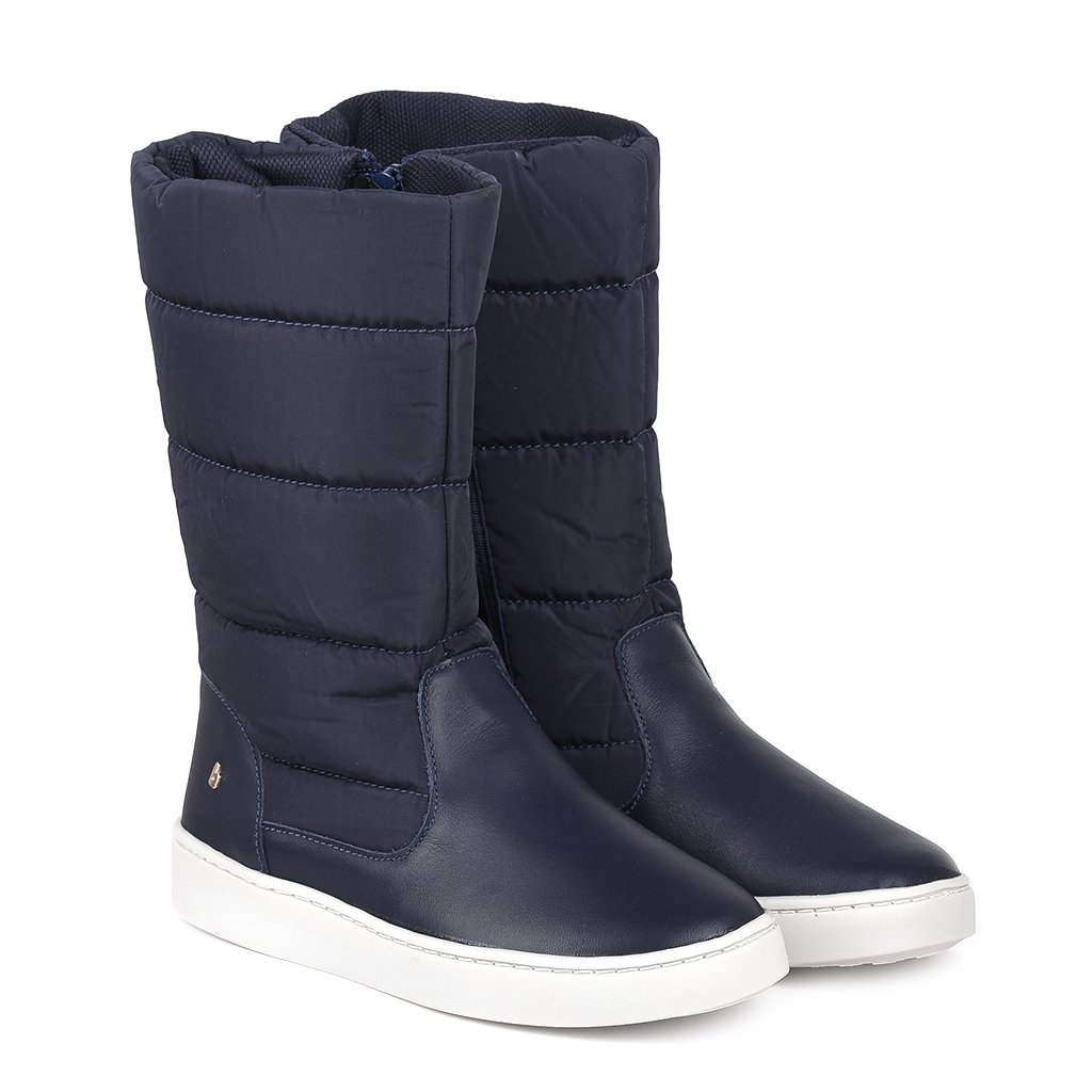 Cizme inalte Bibi Shoes Urban, Bleumarin imagine
