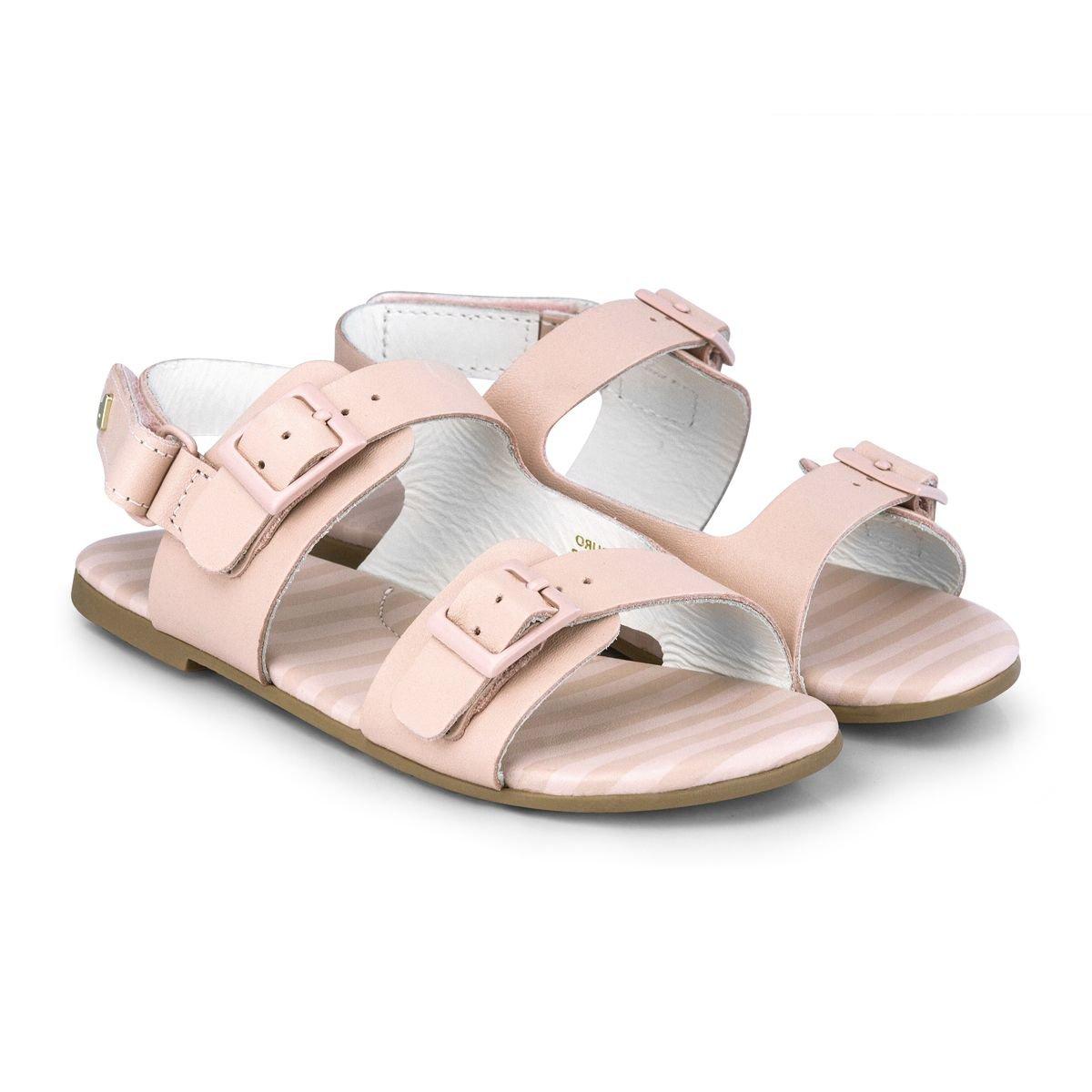 Sandale din piele Bibi Shoes Baby Birk, Roz