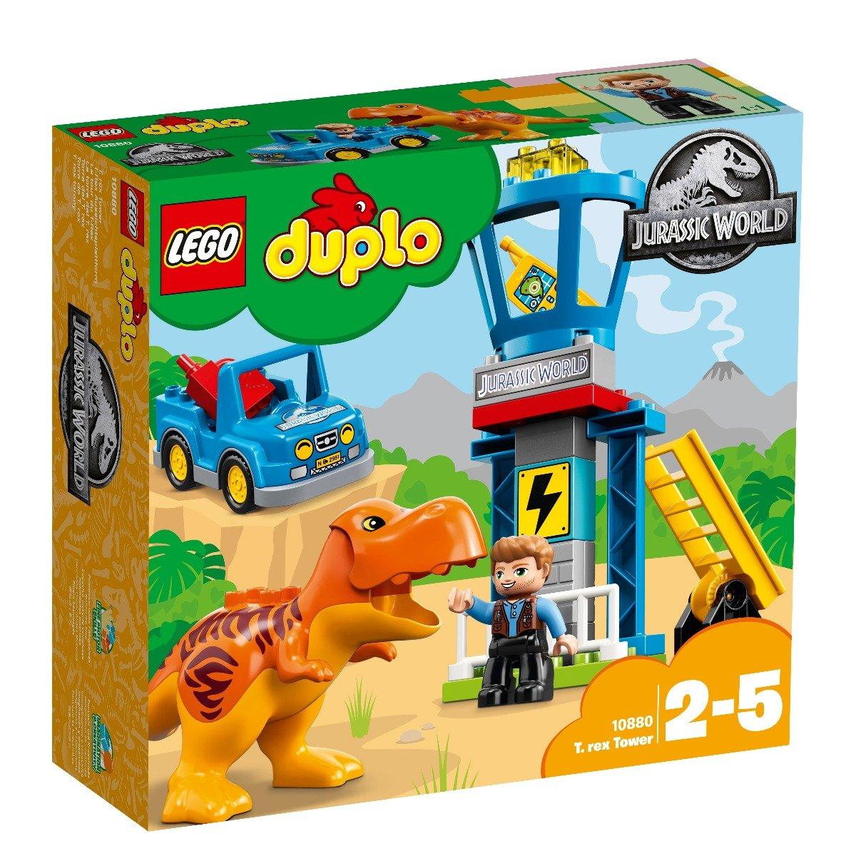 LEGO® DUPLO® - Jurassic World - Turnul T Rex (10880)