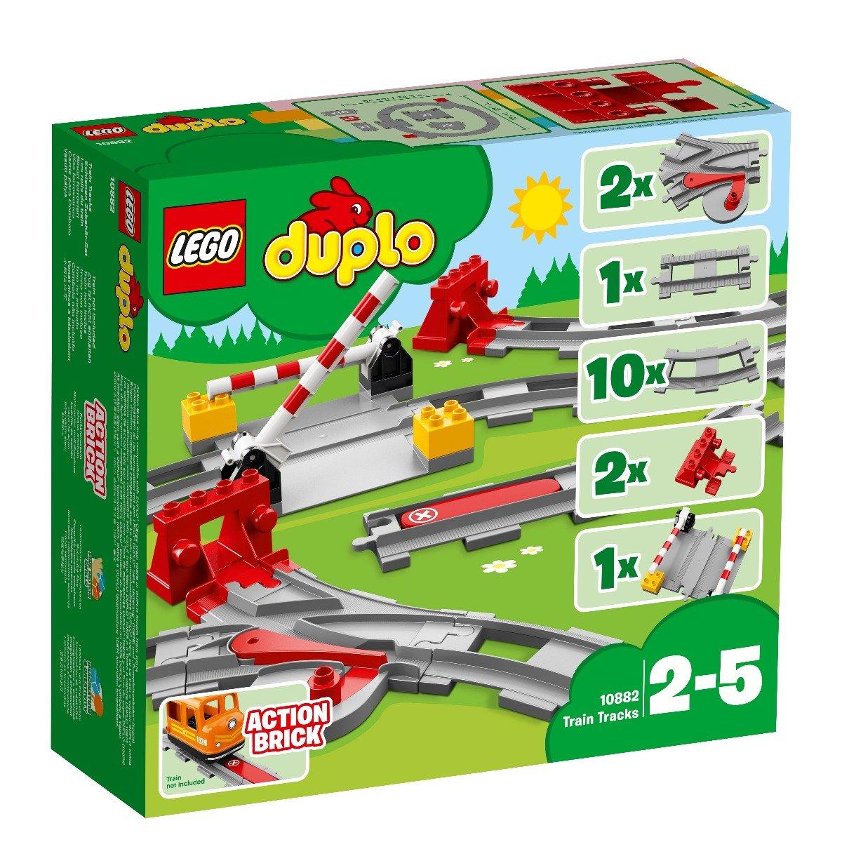 LEGO® DUPLO® - Sine de cale ferata (10882) imagine 2021