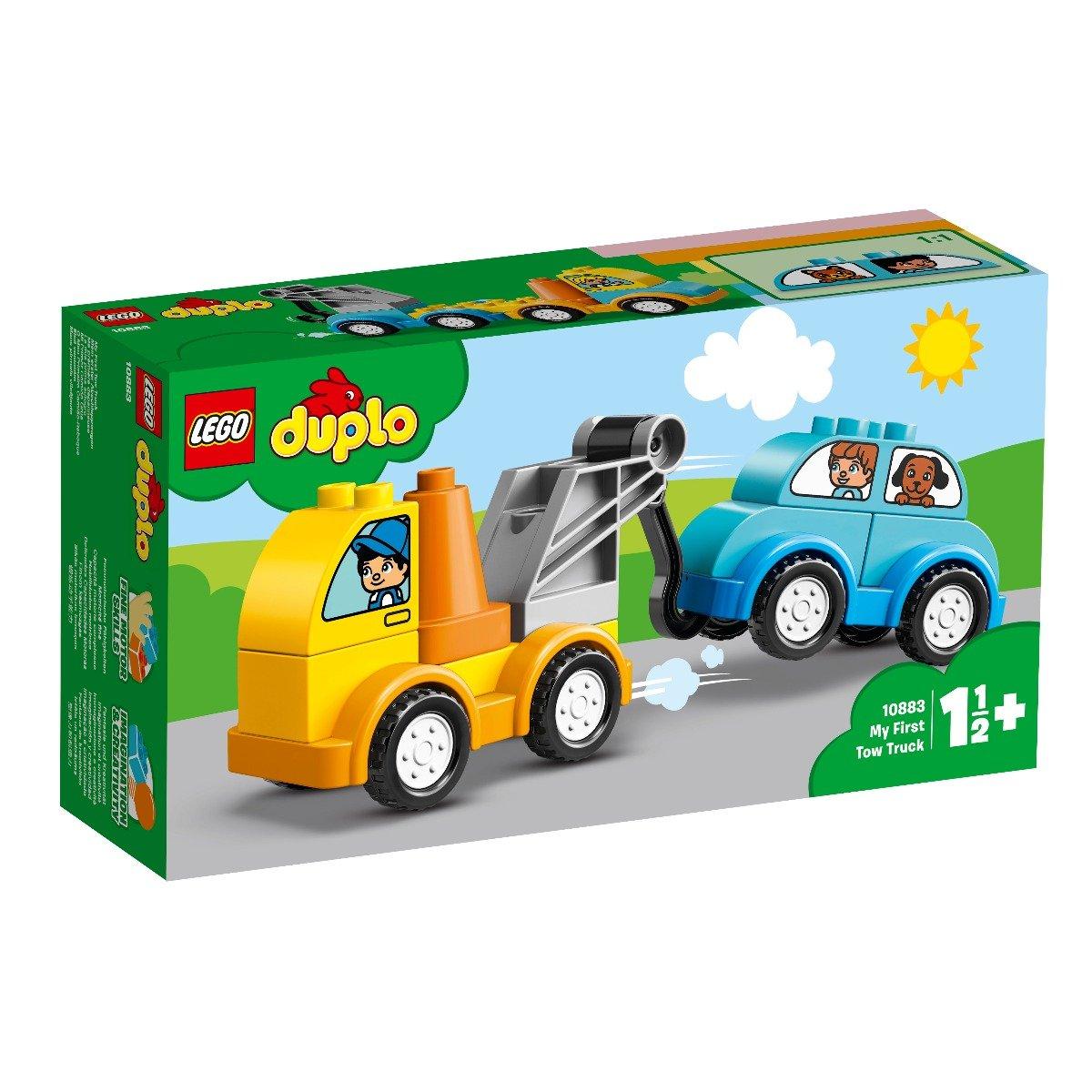LEGO® DUPLO® - Primul meu camion de remorcare (10883)