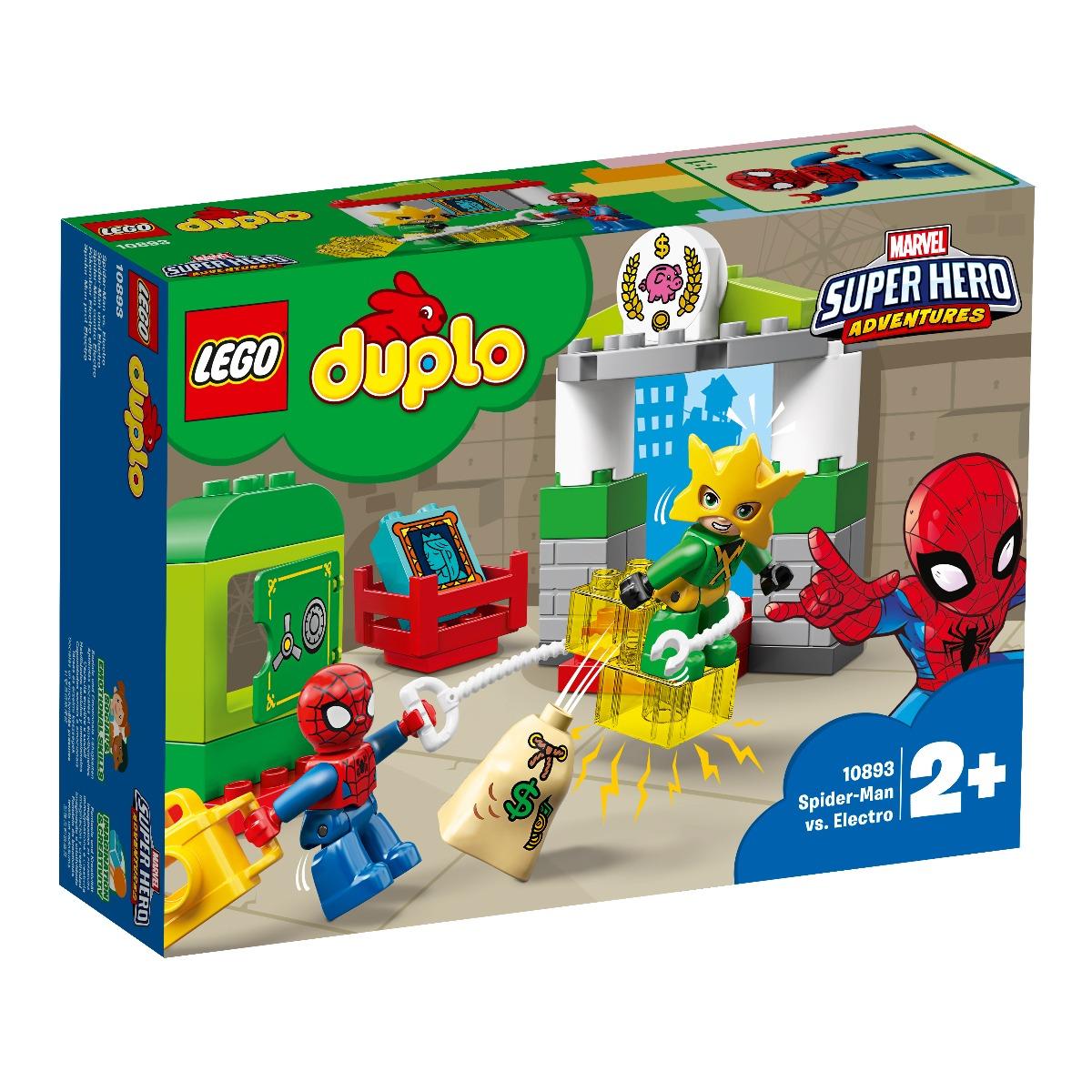 LEGO® DUPLO® - Omul Paianjen contra Electro (10893)