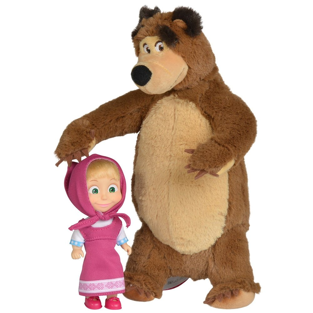 Papusa Masha - Masha Si Ursul