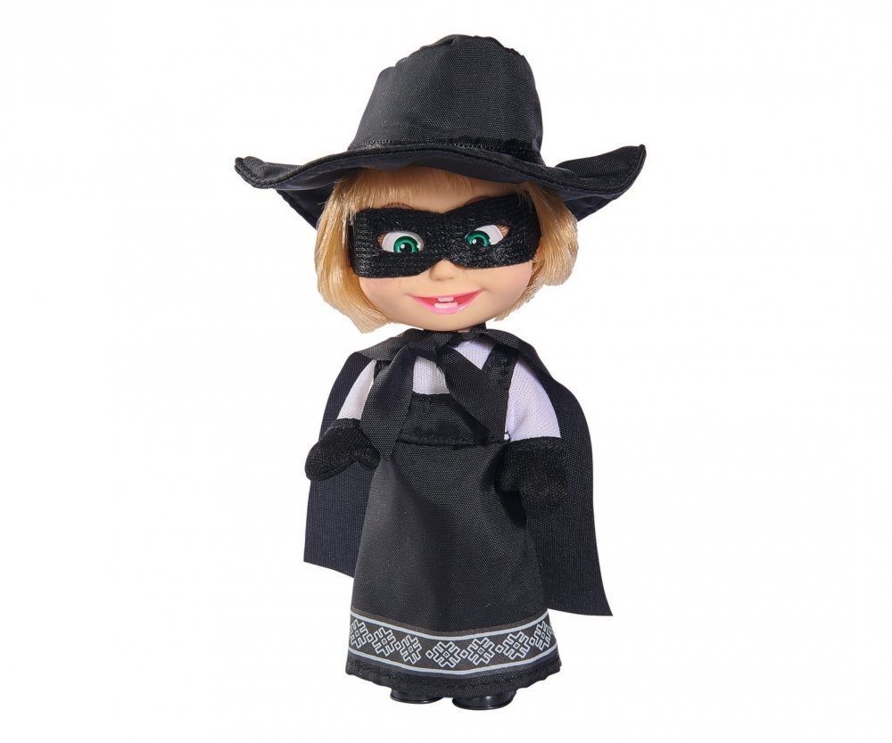 Papusa Masha and the Bear Movie Star - Zorro