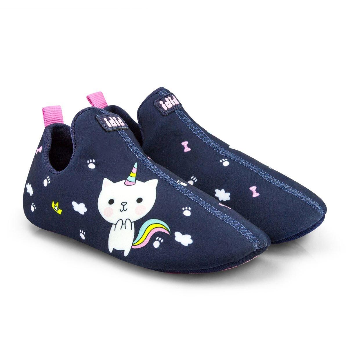 Rezerva pantof Bibi Shoes 2Way Catcorn, Bleumarin