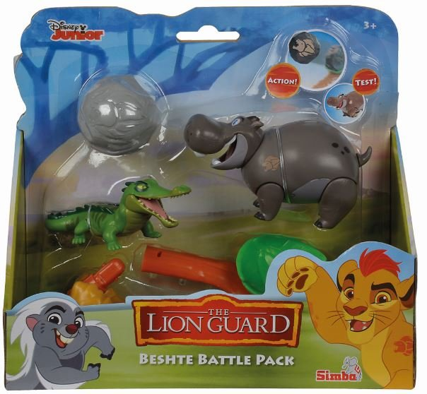 set figurine simba garda felina beshte battle pack