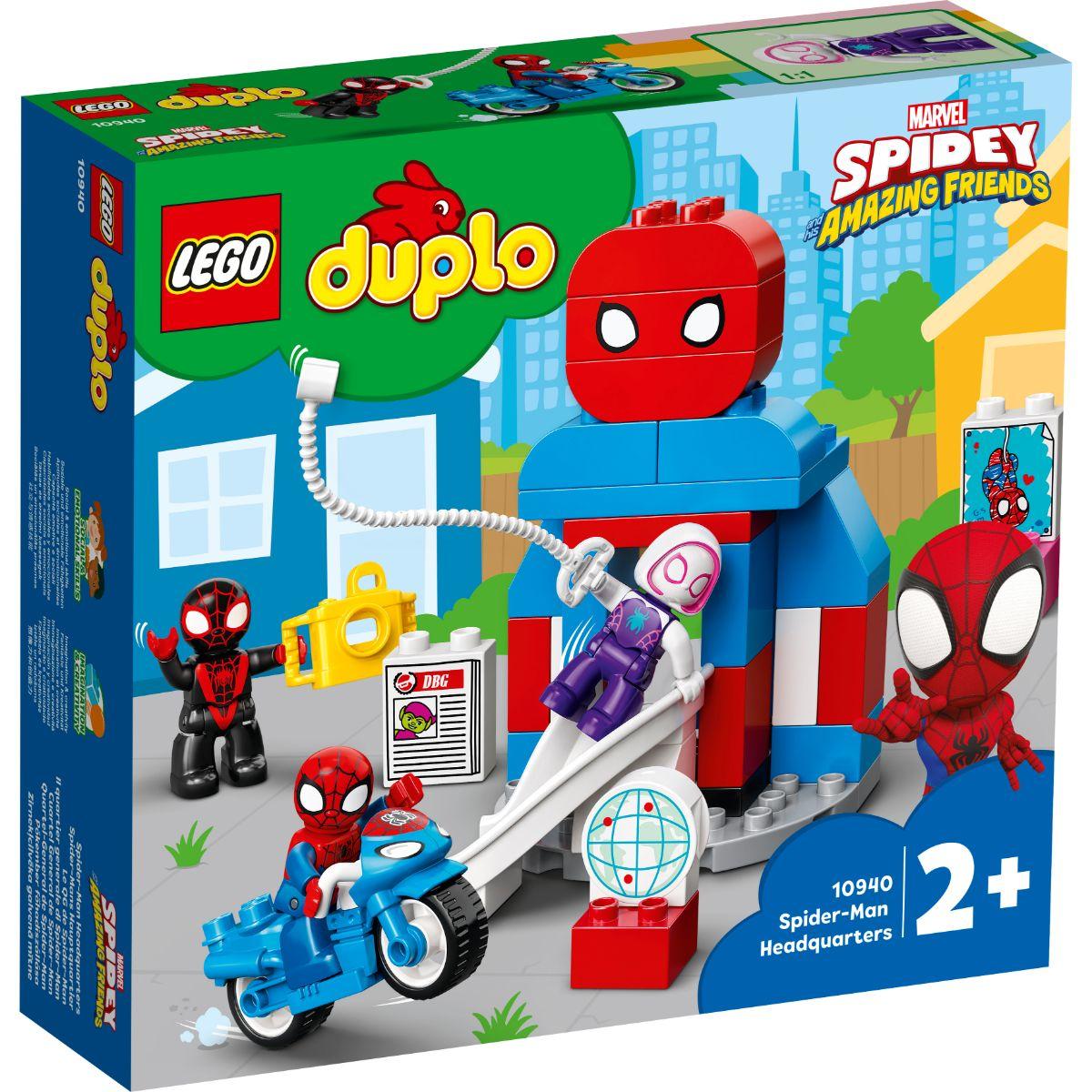 LEGO® Duplo - Cartierul general al Omului Paianjen (10940)