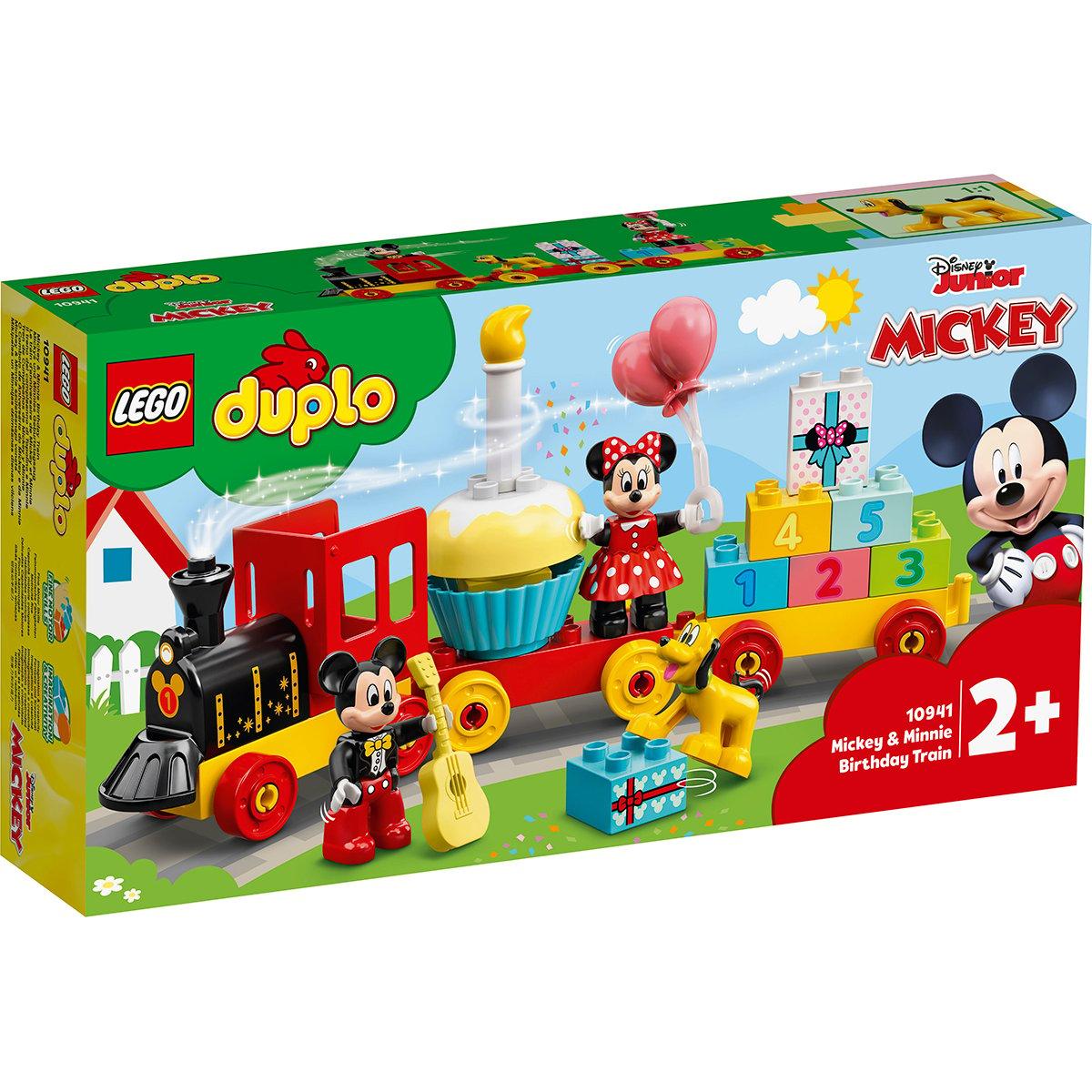 LEGO® DUPLO® Disney - Parada de ziua lui Mickey si Minnie (10941)