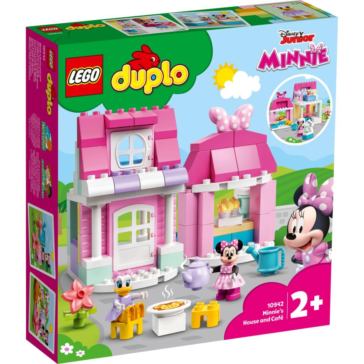 LEGO® Duplo - Casa si cafeneaua lui Minnie (10942)