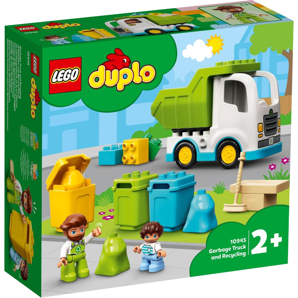 LEGO® Duplo - Autogunoiera si reciclare (10945)