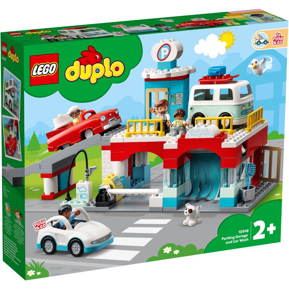 Lego® Duplo - Garaj Si Spalatorie De Masini (10948)