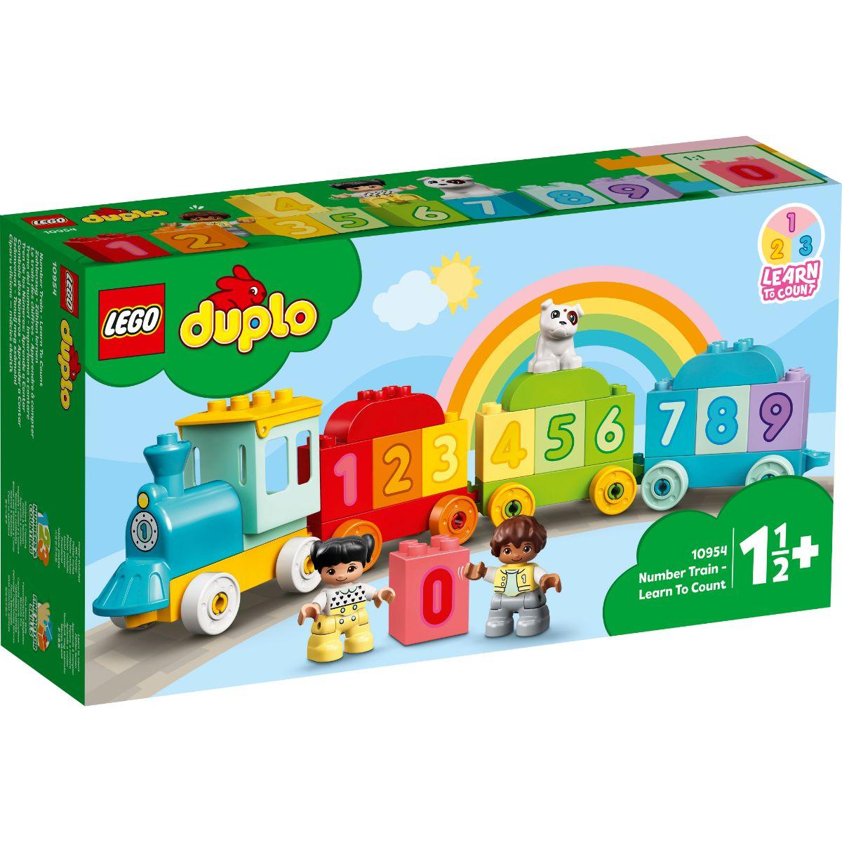 LEGO® Duplo - Trenul Cu Numere - Invata sa numeri (10954)
